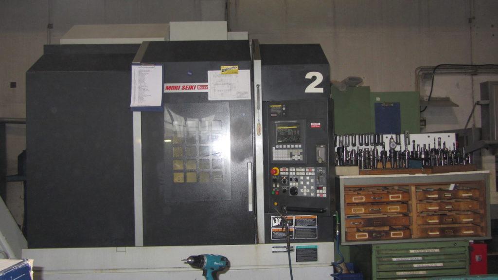 CNC Fräsen, CNC Fräsmaschine
